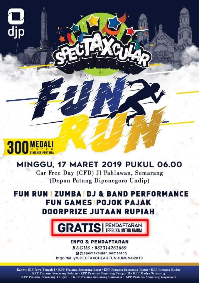 Spectaxcular Fun Run • 2019