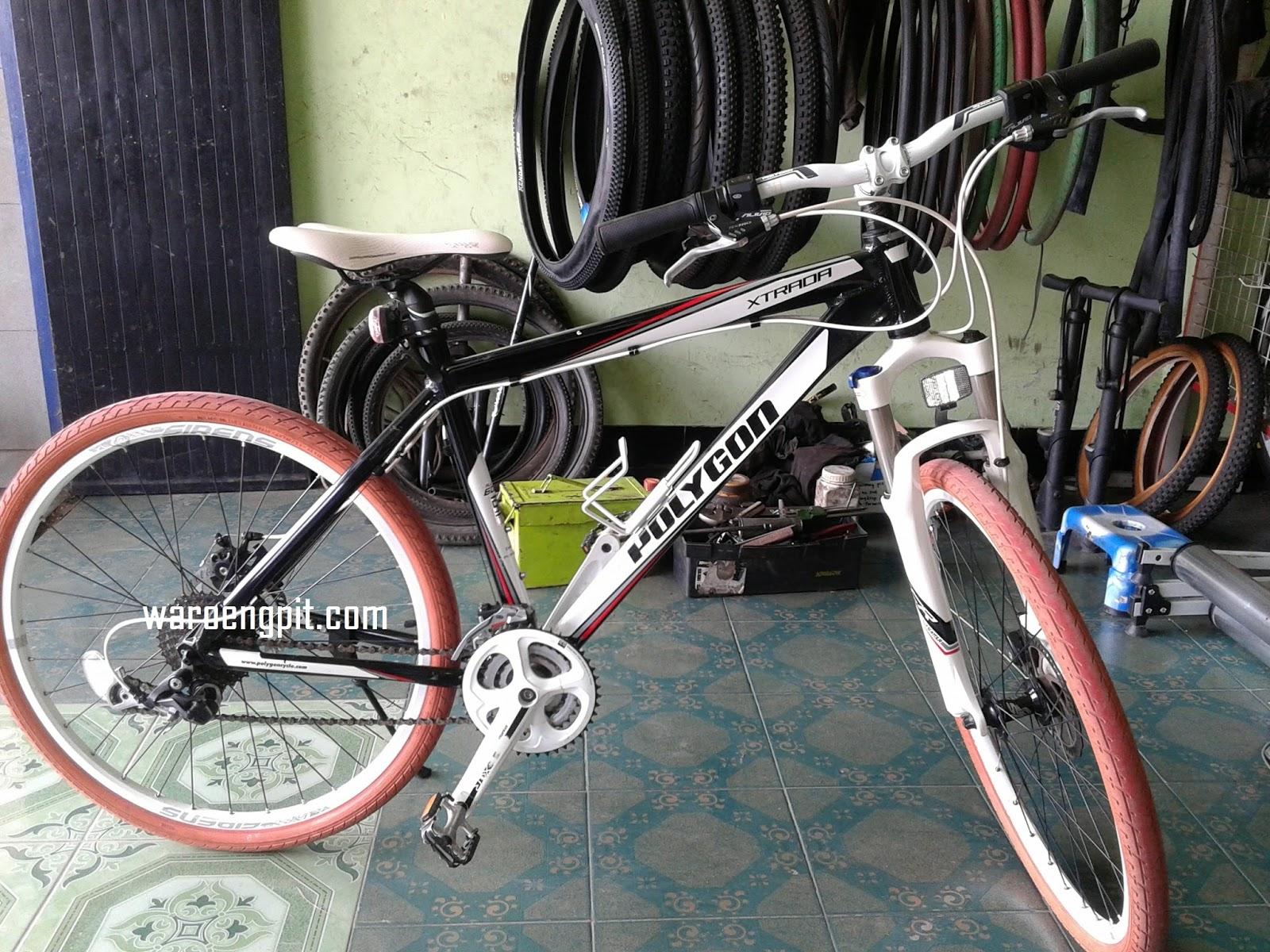 Jual Sepeda Bekas Hardtail Polygon XTRADA 5.0 tahun 2012