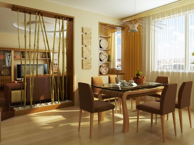 Desain Interior Rumah Minimalis Dari Bambu