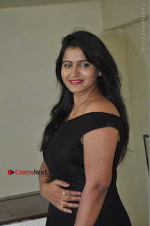 Telugu Actress Swathi Reddy Latest Stills in Black Gown  0037.JPG