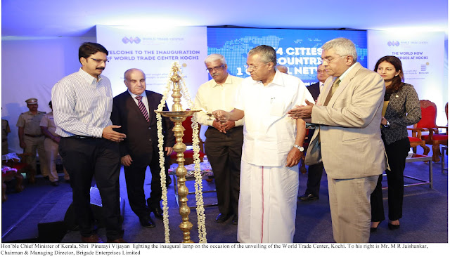 Brigade Group - World Trade Center Kochi inaugurated ( South India)