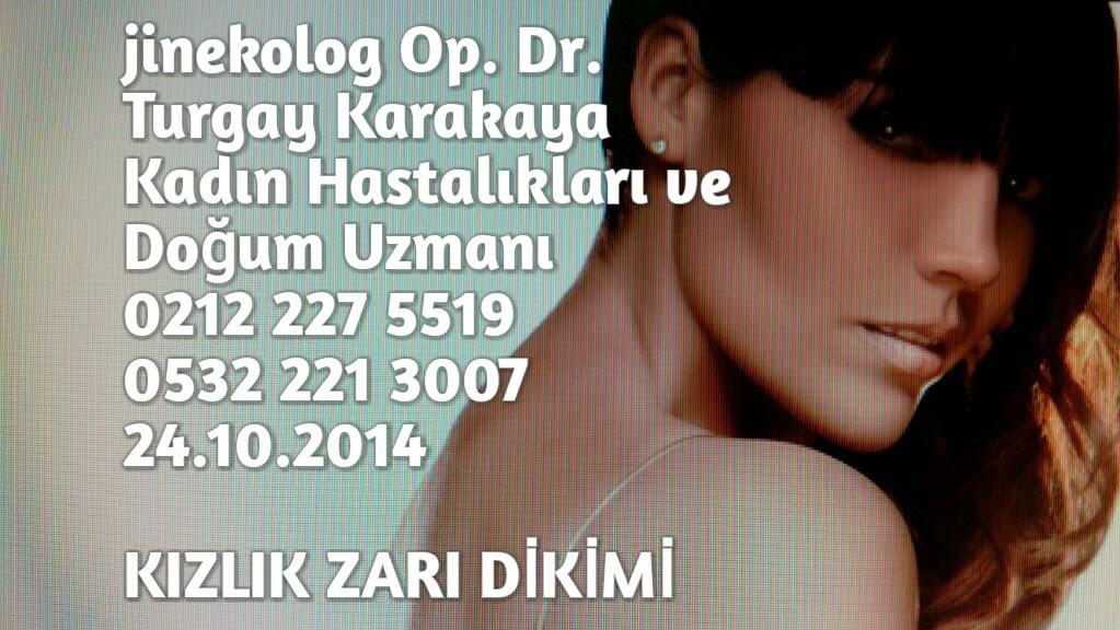 Kızlık zarı dikimi Dr. Turgay Karakaya