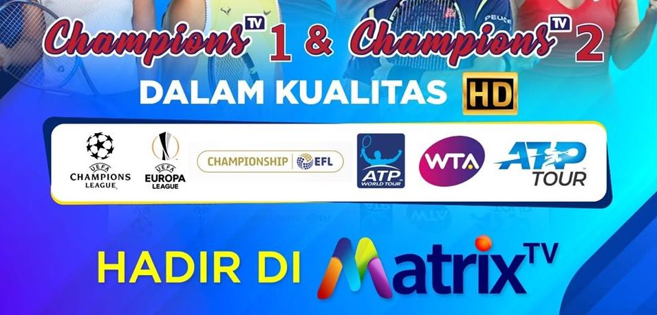 Frekuensi Channel Champions TV Terbaru