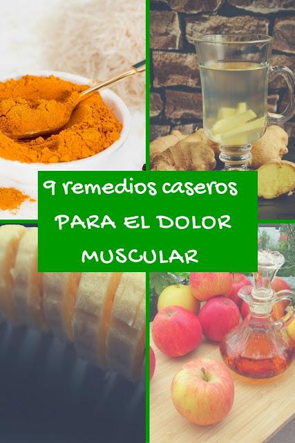 remedios caseros para el dolor muscular