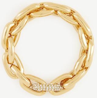Ann Taylor Pave Link Stretch Bracelet $15 (reg $50)