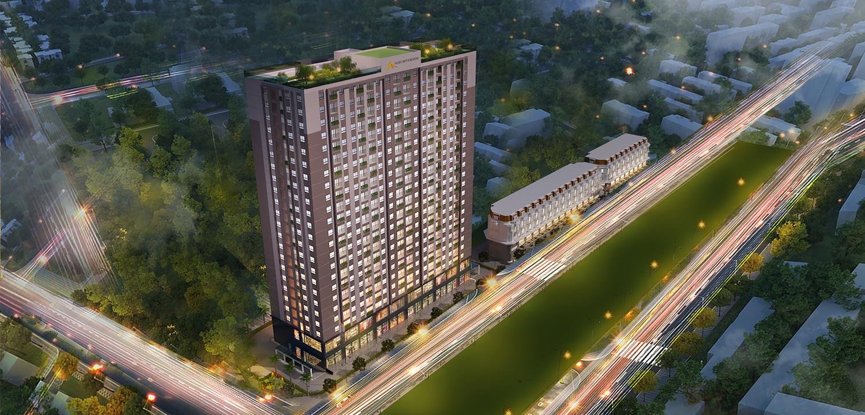 Chung cư AQH Riverside.