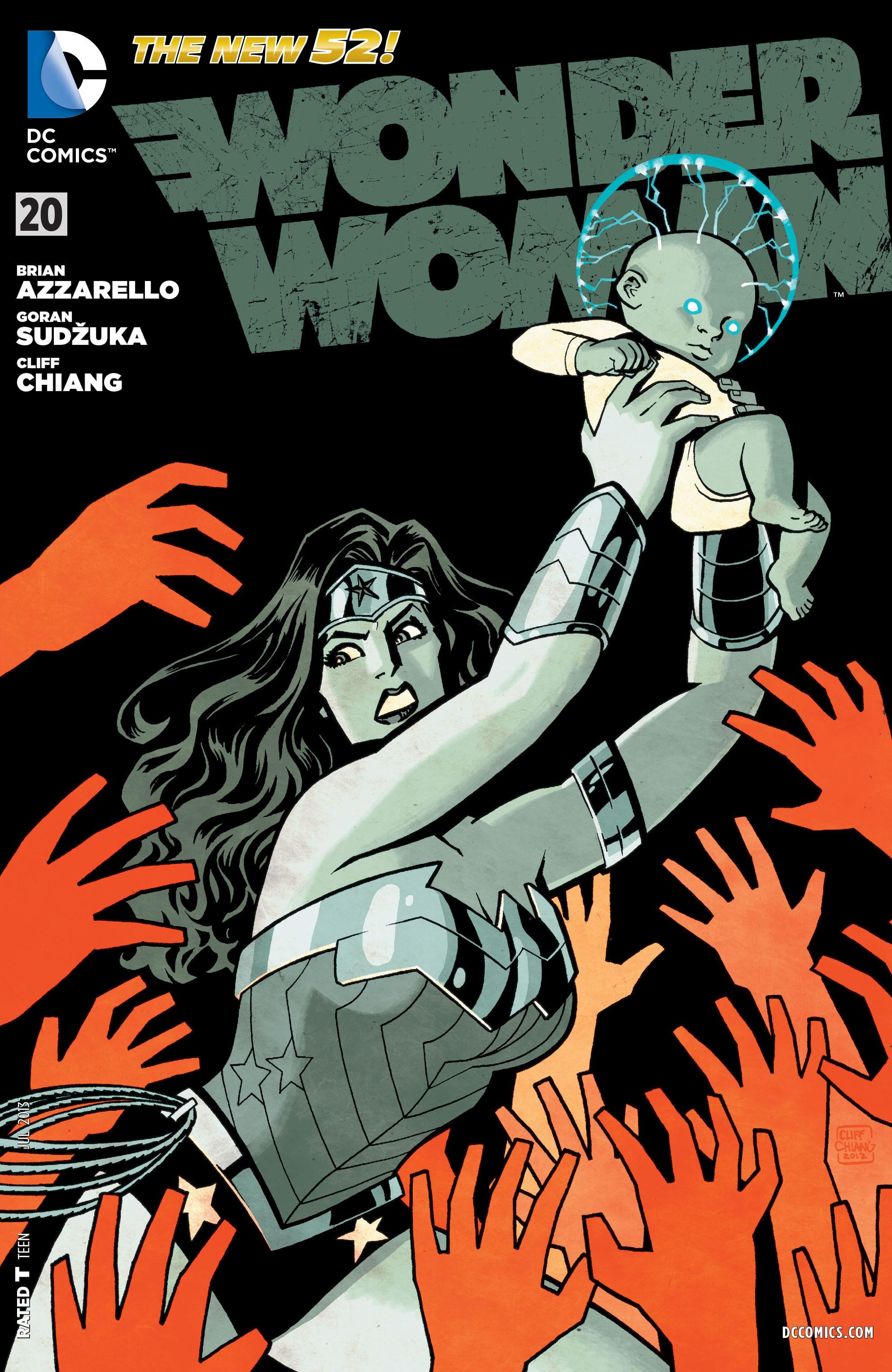 Read online Wonder Woman (2011) comic -  Issue #20 - 1