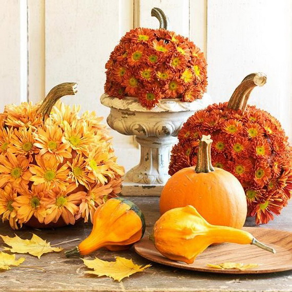 Interior Design 2014: Decoration Ideas For Thanksgiving Table