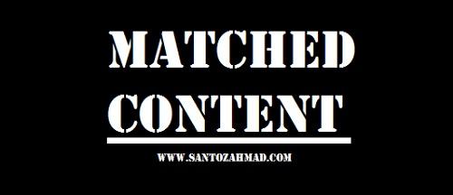 Cara Memasang Matched Content