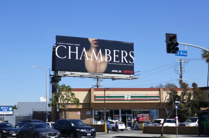 Chambers TV series billboard