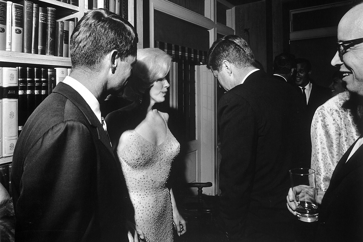 The Story Behind the Only Known Photograph of Marilyn Monroe and John F. Kennedy Together
