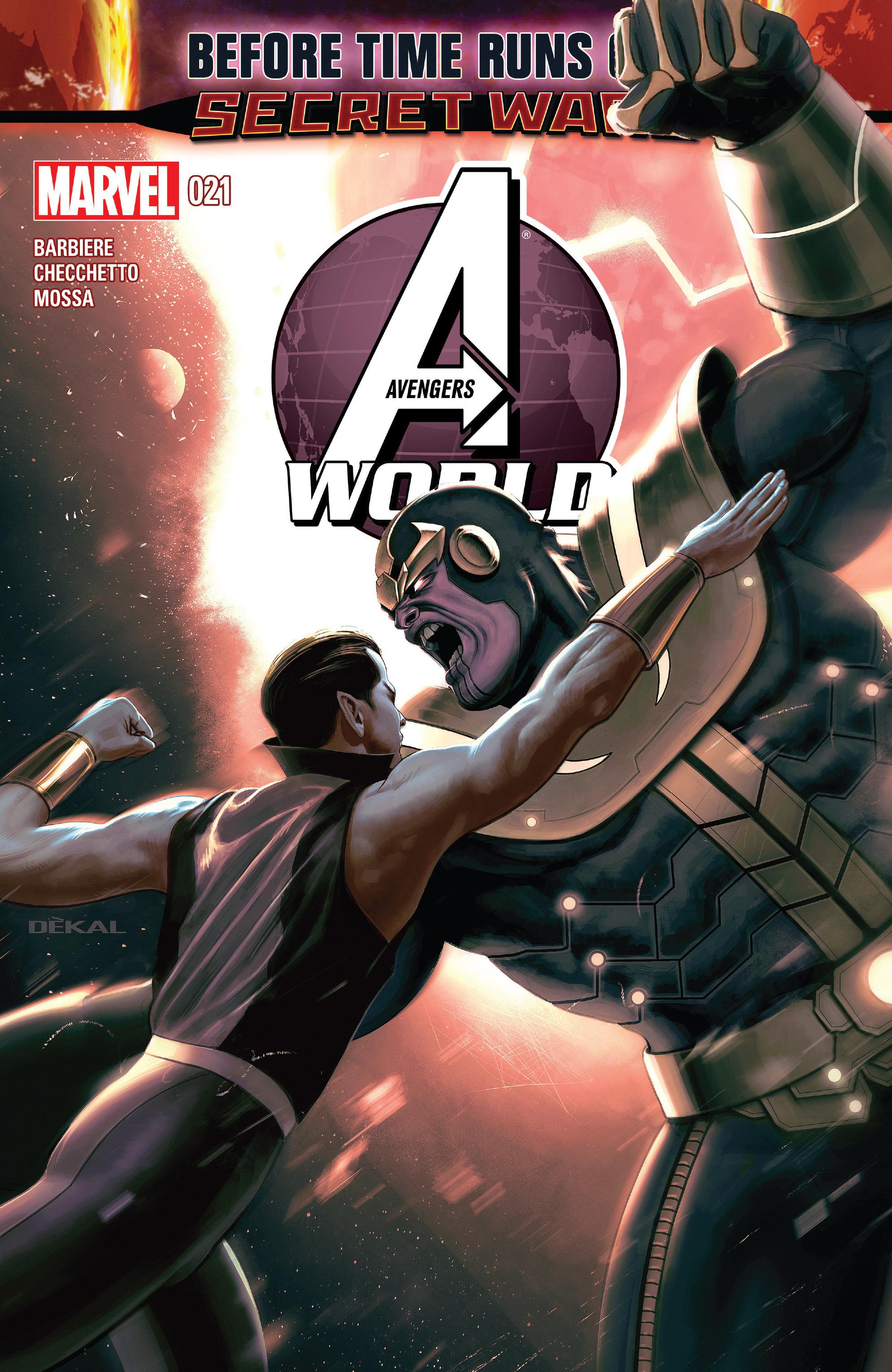Avengers World 21 Page 1