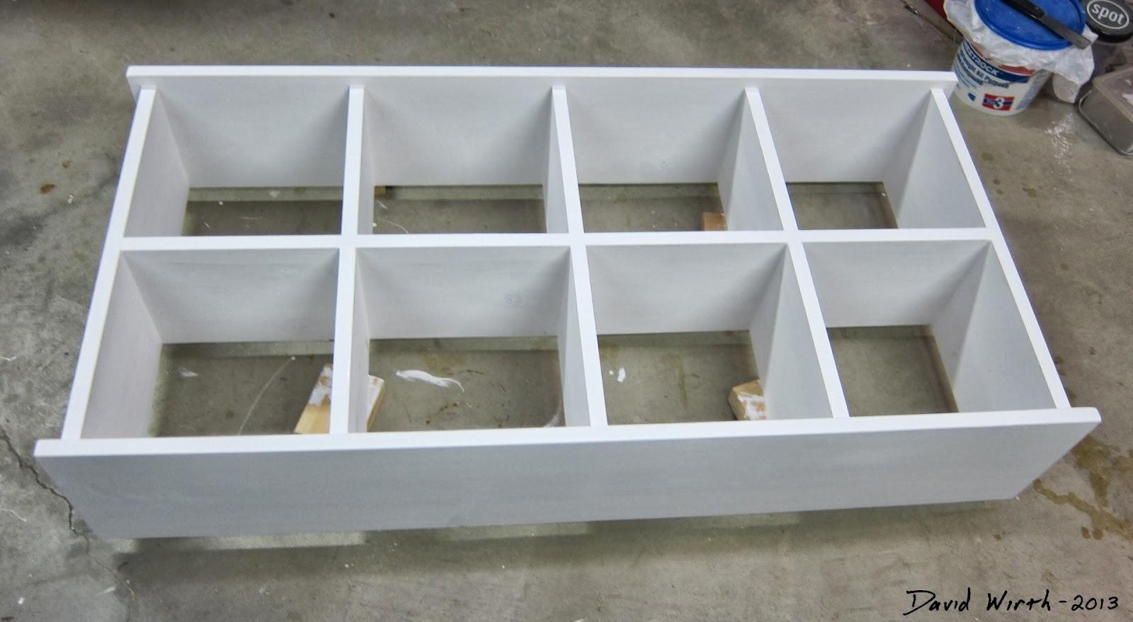 White Box Wall Mounted Shelf