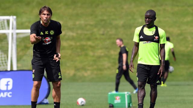 Conte: N'Golo Kante Luar Biasa untuk Chelsea