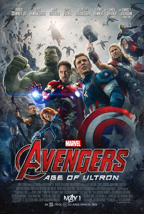Gambar Poster Film Avengers Age of Ultron 2015