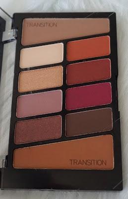Wet n Wild Color Icon Eyeshadow 10 Pan Palette in Rose in the air
