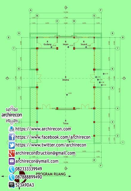 Desain Masjid Antisipatif - Contoh Desain