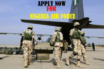 2018/2019 NAF Recruitment Portal | Apply Here – careers.nigerianairforce.gov.ng