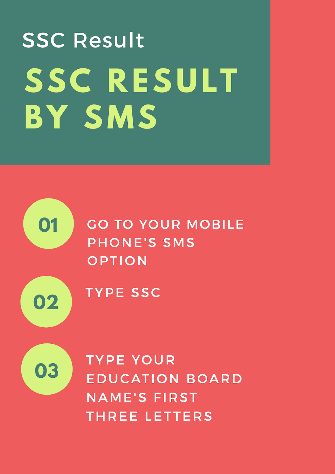 SSC Result 2019 infographic