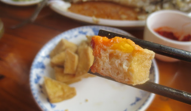 Stinkender Tofu in China