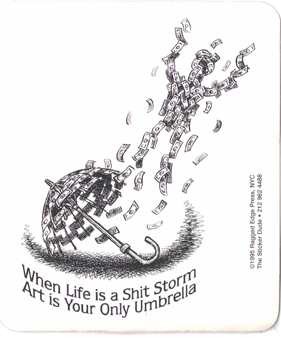 the Art of 12: When Life is a Shit Storm Art is Your Only