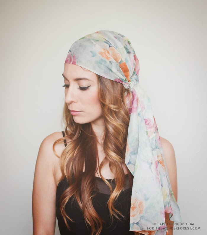 How To Tie a Head Scarf for the Summer: 3 Ways!   Wonder ...