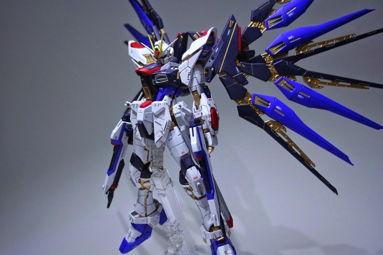 Custom Build: MG 1/100 Strike Freedom Gundam - Gundam Kits ...