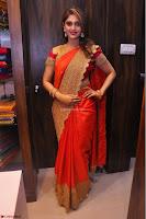 Surabhi looks stunning in Saree at Nakshatra Fashion Store Launch at Suchitra X Road 10.JPG