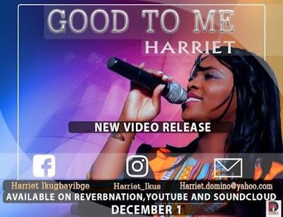 Audio + Video: Good To Me – Harriet