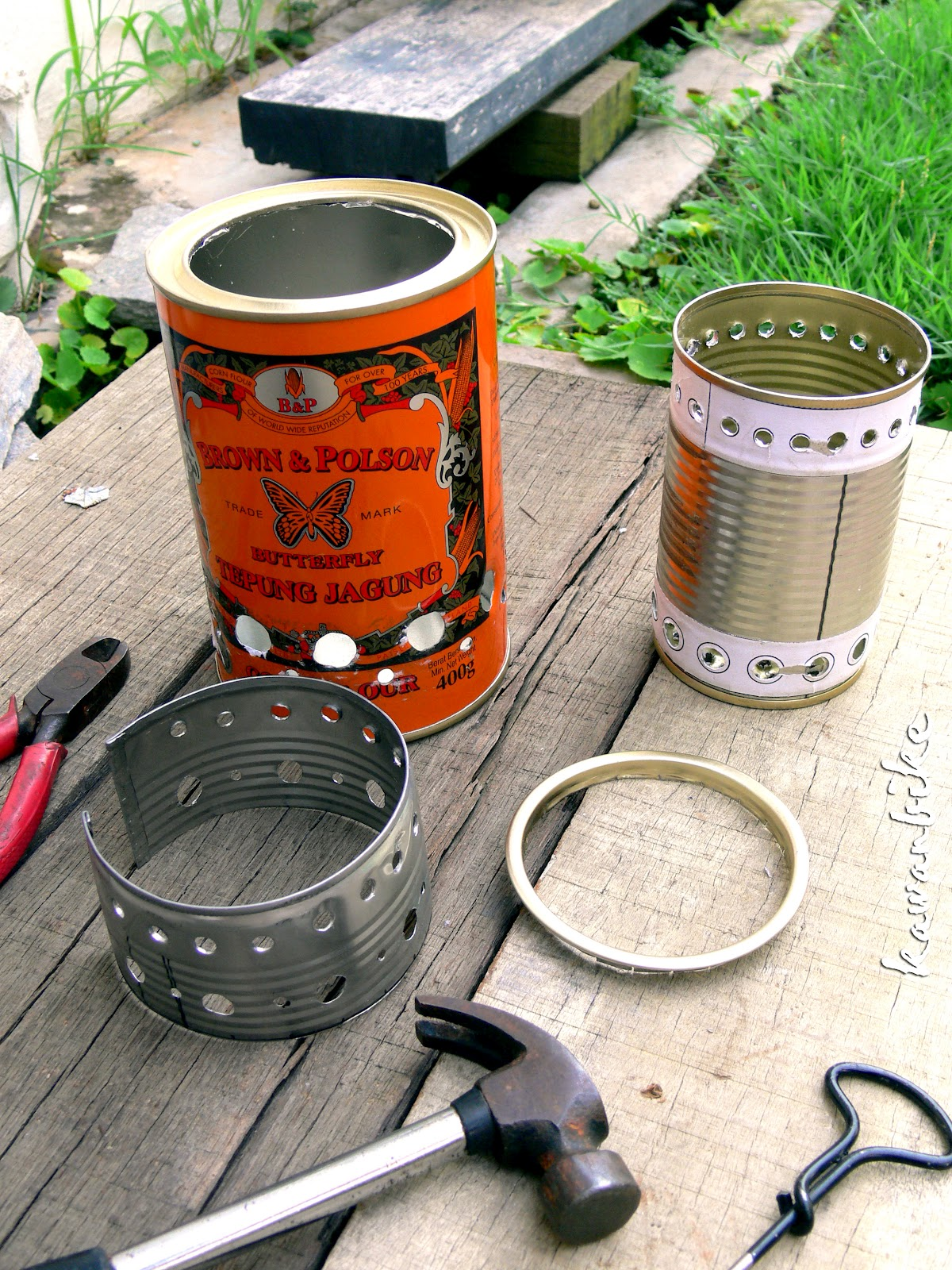 Kawanbike Diy Wood Gas Stove