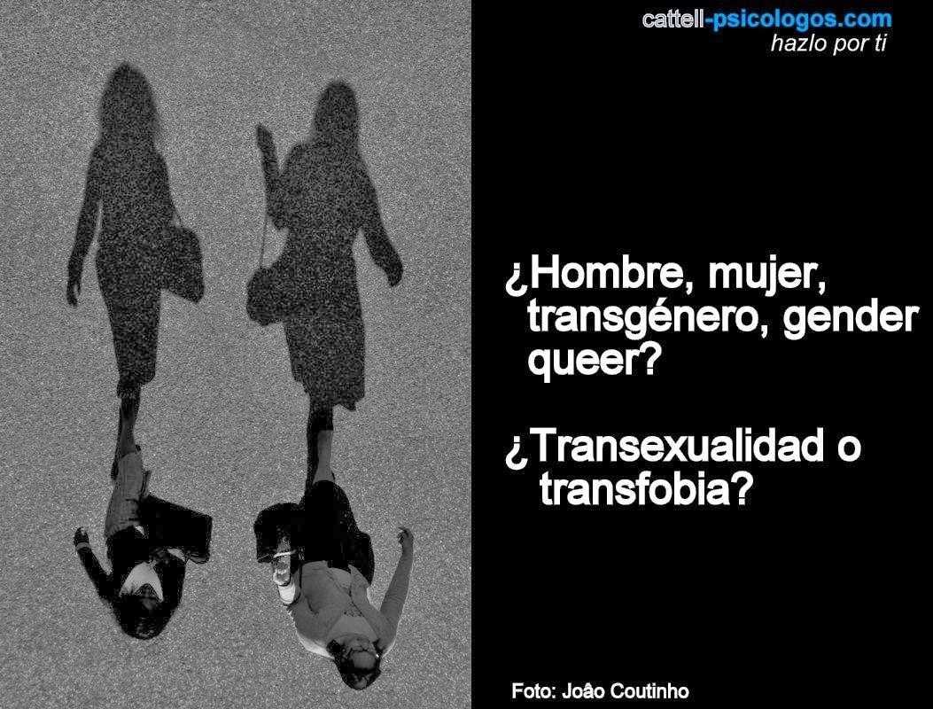 la transexualidad, la identidad de género