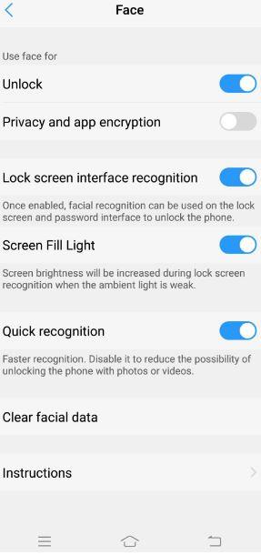 cara kunci aplikasi vivo v9