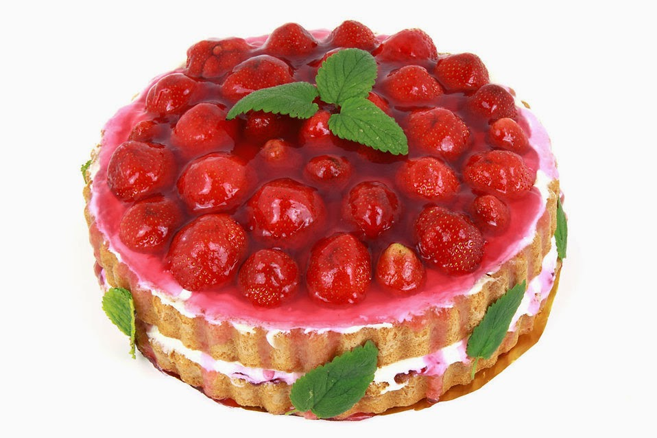 Strawberrycake; taken by:Petr Kratochvil; source:freestockphotos.biz