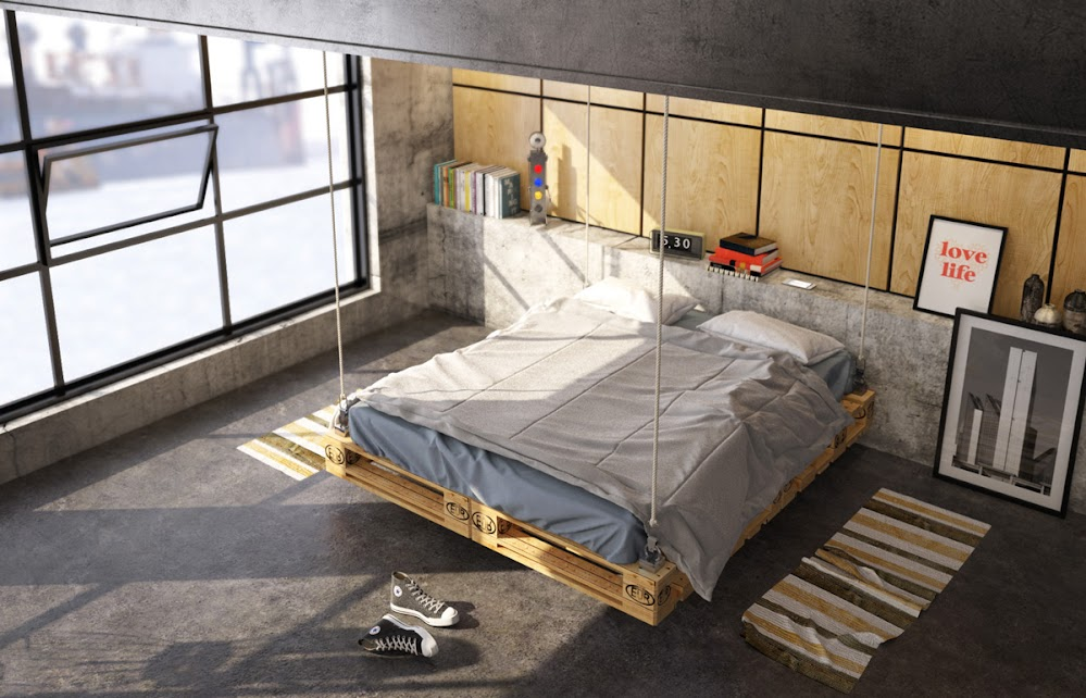 hanging-crate-bed-industrial-beds