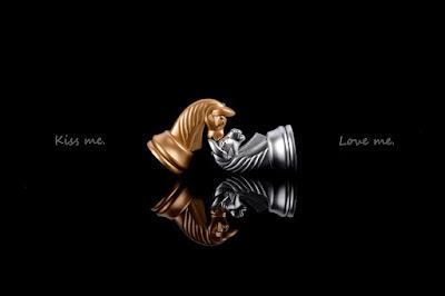 ajedrez, caballos, amor