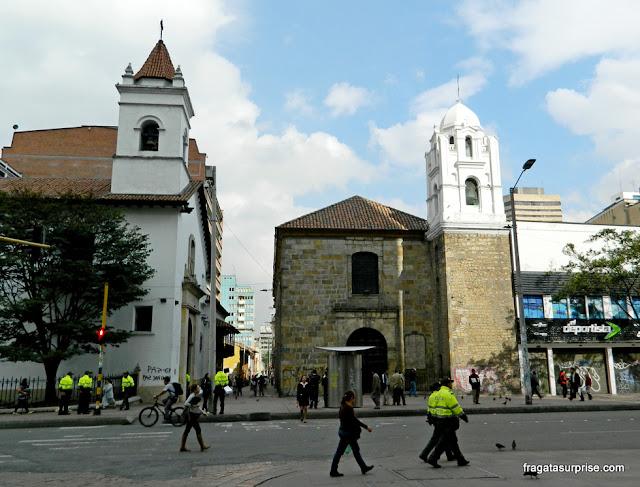 Igrejas de Bogotá: Veracruz e La Tercera