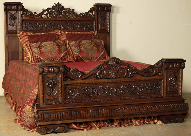 art and interior special series the revival of medieval renaissance bedrooms in the goth scene. Black Bedroom Furniture Sets. Home Design Ideas