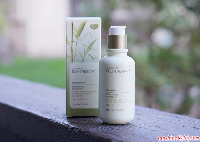 The Face Shop, Arsainte Eco-Therapy, Eco-Conscious Skincare, Arsainte Eco-Therapy Tonic with Essential, Arsainte Eco-Therapy Moisturizer, Beauty Review, Skincare Review,