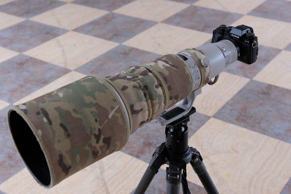 Canon EF 600mm f/4L IS USM с камерой Fujifilm X-T3