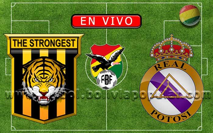 【En Vivo】The Strongest vs. Real Potosí - Torneo Apertura 2020