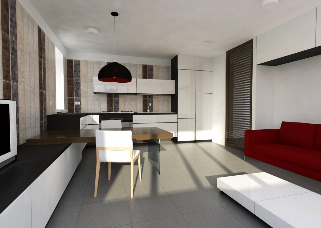 Dapur dan hidup adalah tips interior dan design rumah - Living e cucina ...