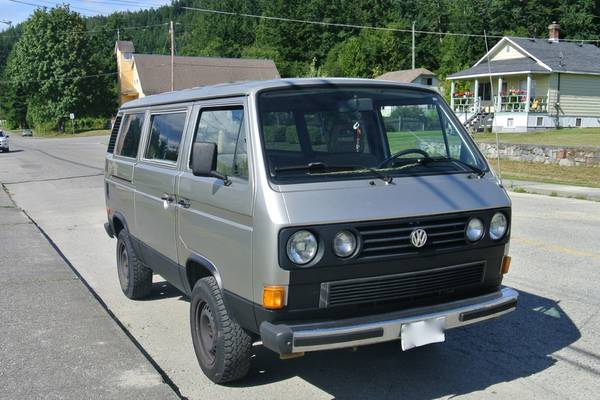 1987 VW Syncro 4WD Vanagon