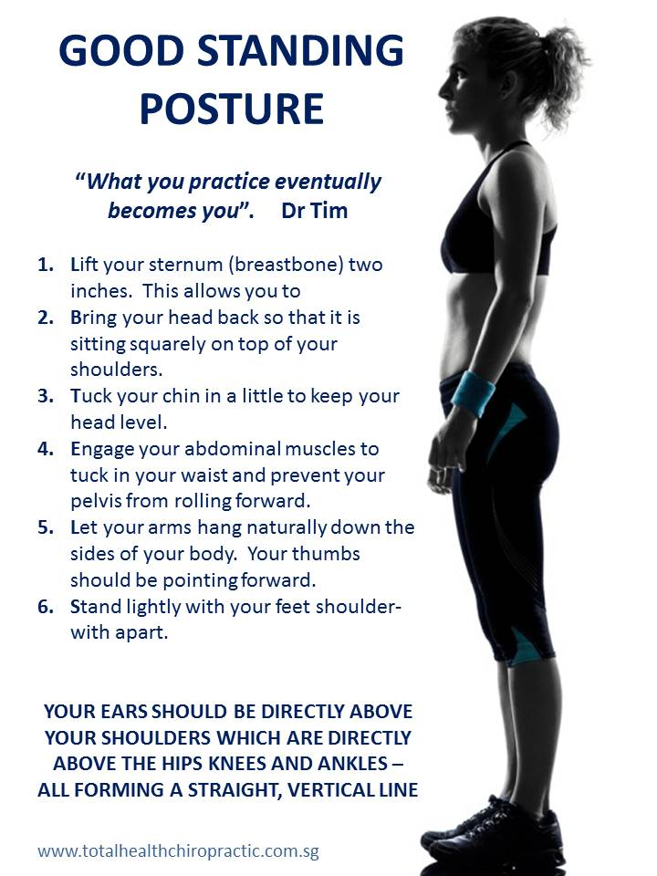 The Classy Woman ®: How to Improve Your Posture