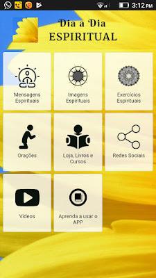 Ótimo aplicativo de Mensagens Espíritas para colocar no seu celular