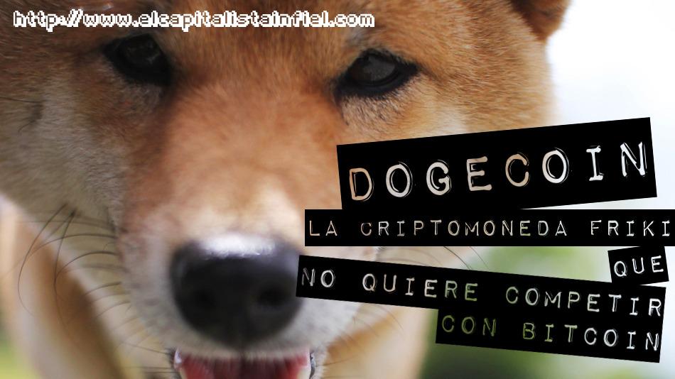 dogecoin, criptomoneda, dinero, friki