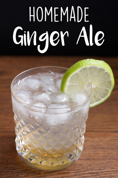Homemade Ginger Ale || A Less Processed Life