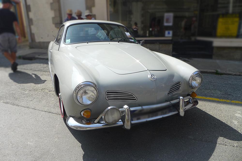 rassemblement voitures vintages volkswagen à Clisson
