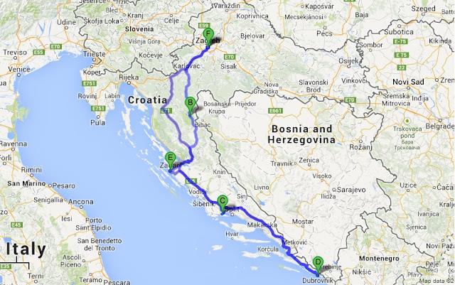 Aluguel de carro na Croácia - Viagem e roteiro