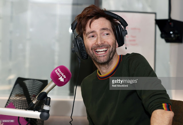 David Tennant on Absolute Radio - Wednesday 28th March 2018
