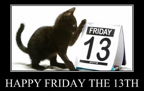 Friday the 13th kitten